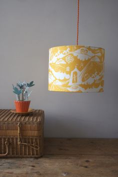 Enter the Magician Lampshade in Sunshine £58.00