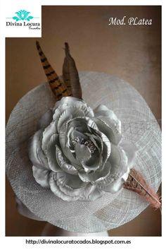 Tocados bodas Divina Locura http://divinalocuratocados.blogspot.com.es/