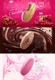 Web Design, Food Design, Ice Cream Packaging, Food Artists, 3d Typography, Type Setting, Food Menu, Brochure Design, Graphic Design Inspiration
