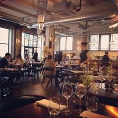 Gordon Ramsay's new London restaurant, Union Street Cafe.Love the chairs #restaurant  #london
