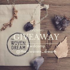 """""""WIN OUR OPENING GIVEAWAY!!!VALUED OVER $400 TO WIN:  1.FOLLOW @the_woven_dream 2.REPOST with #wdcomp @the_woven_dream  3. COMMENT with your favourite…"""""""