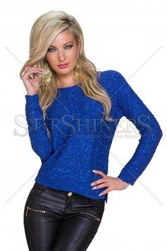 Frozen Secret DarkBlue Sweater Frozen Secrets, Great Cuts, How To Get Warm, Warm Sweaters, Warm Outfits, Product Label, Clothing Items, Dark Blue, Stylish