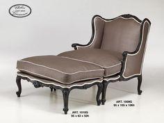 Bergère Louis XV style