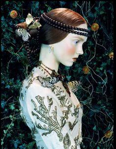 [][][] Like a Painting. Vogue Italia. 2005. Miles Aldridge.