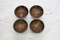 chocolate for cranberry granola www.dosemente.com