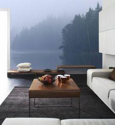 Mural Forest Luxury Bedroom