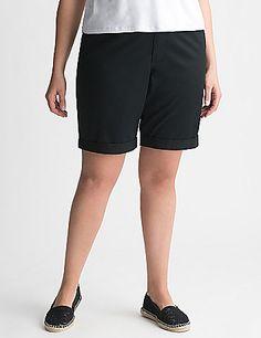 Lane Bryant Plus Size Bermuda Shorts