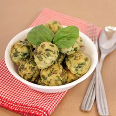 Spinach and Roasted Garlic Turkey Meatballs. Use 2 egg whites instead of whole egg.