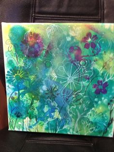 Mixed media art by Artist Wendy Smith