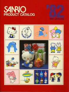 You Will Want Everything From This 1982 Sanrio Catalog