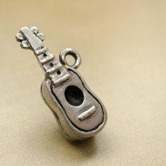 Ukulele Sterling Silver Charm