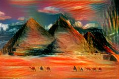One of the interesting application of artificial intelligence is picture painting. See one of the examples of this, produced in yougogh.com.