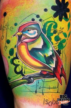 colour graduated tattoo - Google Search
