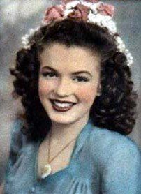Marilyn Monroe (Norma Jeane) - 1943 - at age 17