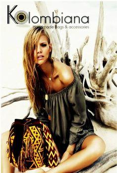 Wayuu Bags 100% Cotton www.kolombiana.com