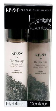 Duo de NYX para iluminar y hacer contorno