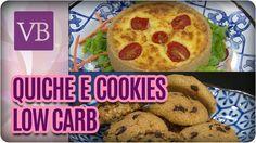 Quiche e Cookies Low Carb - Você Bonita (22/11/16)