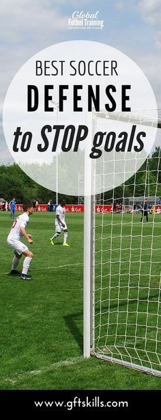 Defending in soccer requires many things, one of which is staying goal side of your man. You dont see many goals scored when the defender stays goal side. If you are not goal side then you would allow the player you are marking to get an easy goal. College Soccer, Youth Soccer, Soccer Boys, Play Soccer, Soccer Cleats, Soccer Stuff, Soccer Art, Soccer Poster, Soccer Decor