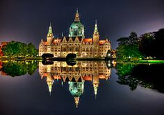 Palace reflection