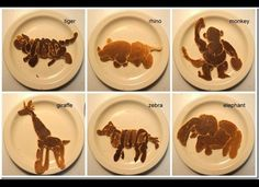 Fun pancake art via Huffington Post originally from Saipancakes