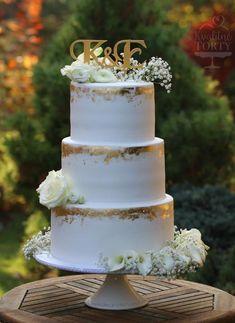 Trendy wedding cakes elegant gold 24 Ideas wedding cakes cakes elegant cakes rustic cakes simple cakes unique cakes with flowers Luxury Wedding Cake, Wedding Cake Rustic, Elegant Wedding Cakes, Elegant Cakes, Beautiful Wedding Cakes, Wedding Cake Designs, Wedding Cake Toppers, Trendy Wedding, Gold Wedding