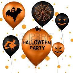 Halloween Party Balloons<3<3
