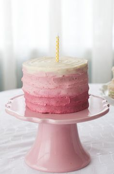 This low-sugar birthday cake at Simple Bites is the perfect way to let your baby celebrate without feeling that awful sugar-crash later.