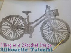 Filling in Silhouette Sketch Pens (or Pencil) Designs ~ Silhouette School