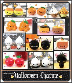 Halloween charms by Oborochann.deviantart.com on @deviantART