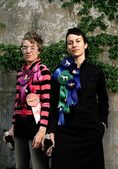 Animal Prize Ribbons by Jessica Grindstaff.