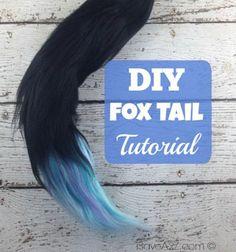 Fox tail from yarn / Rókafarok fonalból / Mindy