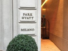 10 Things to Know about the Park Hyatt Milan - http://theforwardcabin.com/2015/03/11/10-things-to-know-about-the-park-hyatt-milan/