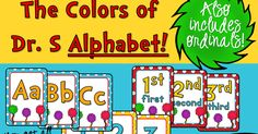 The Teaching Sweet Shoppe!: Dr. Seuss Style Alphabet & Whole Brain Teaching Rules