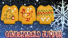 Christmas Gingerbread Jumper - Lets Build Christmas Gingerbread House, Christmas Fun, Jumper, Let It Be, Jumpers, Sweater