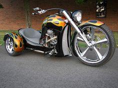 Cool Motorcycle Trike