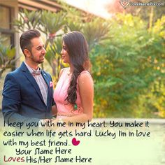 Write Name on Romantic Couple Name Editing Picture - Love Name Generator Romantic Couple Names, Romantic Love Images, Romantic Couples, Name Pictures, Editing Pictures, Couple Pictures, Beautiful Love, Love Is Sweet, Love Images With Name