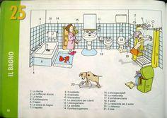 Pag 34 La casa: il bagno