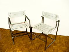 Fire hose chair with or without armrests planned and carried out by by OBGETTI