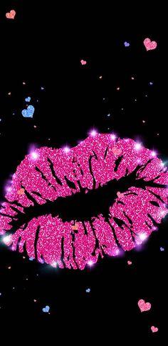 Glitter Lips wallpaper by NikkiFrohloff - 596b - Free on ZEDGE™