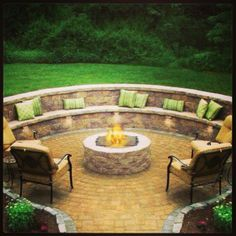 SEXY backyard idea! Might be my favorite! -- I REALLY WANT TO DO SOMETHING LIKE THIS IN THE FAR CORNER OF OUR YARD.