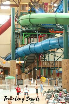 There is a lot you can do at Great Wolf Lodge in Niagara Falls, Ontario, Canada. You can ride these slides all day! Click to see more images or save this pin for later. More at Traveling Seouls