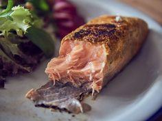 Salmón con curry y limón sous vide Tostadas, Curry, Sous Vide, Pork, Spice, Juices, Cook, Kale Stir Fry