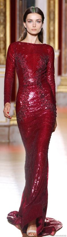 Zuhair Murad: Fall Haute Couture during 2012 Paris Fashion Week Couture Mode, Style Couture, Couture Fashion, Beautiful Gowns, Beautiful Outfits, Gorgeous Dress, Red Fashion, Fashion Dresses, Couture Dresses