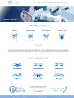 FATOU DENTAL. Responsive web design.