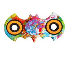 Batman Pattern Fidget Spinners - Colorful Designs Tiger.