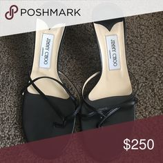 Jimmy Choo Black Jimmy Choo heels... Great condition used about 3 times Jimmy Choo Shoes Heels
