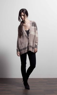 Allure button cardigan in Sable Weaving, Fall Winter, Hipster, Button, Spring, Collection, Style, Fashion, Swag