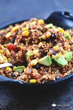 ... for Quinoa! on Pinterest | Quinoa, Black bean quinoa and Quinoa recipe