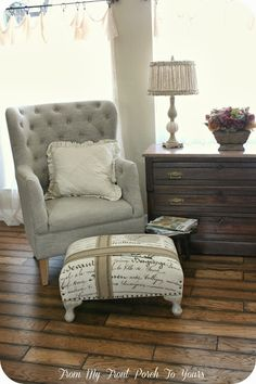 French Farmhouse Living Room Reveal From My Front Porch To Yours