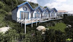 Devon's Cary Arms close to unveiling new Beach Huts...